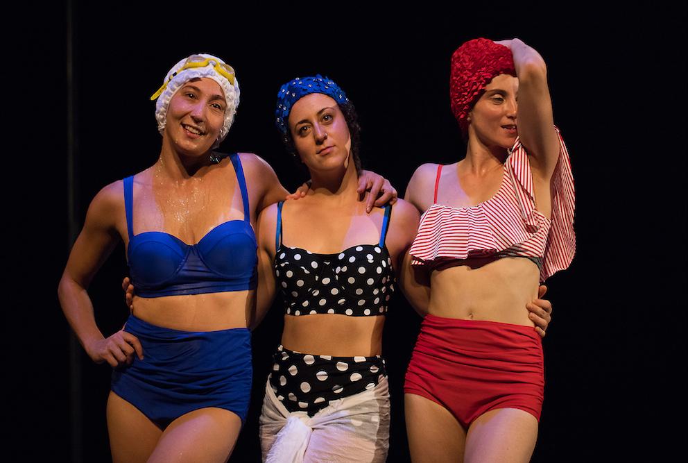 pin up costume da bagno minuetti circo contemporaneo italiano